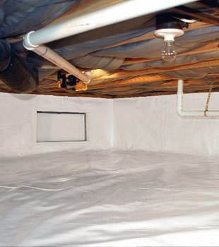 A complete crawl space repair system in Blackwood