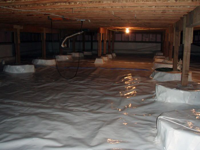 Superieur A Very Large, Sealed, And Waterproofed Crawl Space In Blackwood.