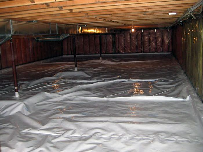 Crawl Space Cleanup In Marlton Sicklerville Cherry Hill
