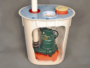 crawl space sump pump