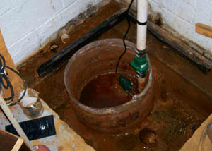 Extreme clogging and rust in a Hammonton sump pump system