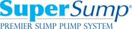 Logo for our SuperSump® Pump System, available in Bridgeton and other parts of New Jersey