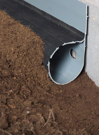 crawl space drain system installed in Brigantine