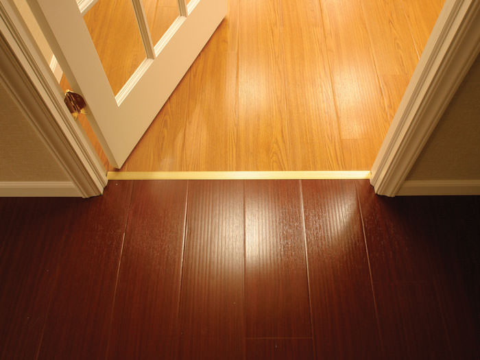 Wood Basement Flooring Design In A Absecon Basement Renovation