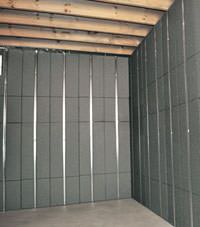 Thermal insulation panels for basement finishing in Clementon, New Jersey