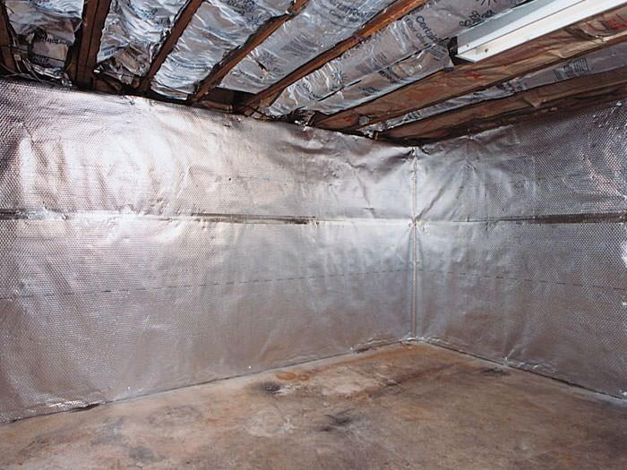 An Energy Efficient Radiant Heat And Vapor Barrier For A Northfield Bat Finishing Project